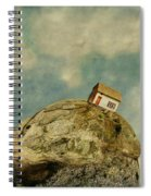 Tilted House Spiral Notebook