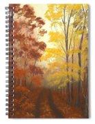 Timber Road Spiral Notebook