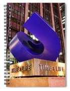 Time And Life Curved Cube Spiral Notebook