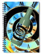 Time In A Bottle Spiral Notebook