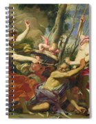 Time Overcome By Youth And Beauty Spiral Notebook