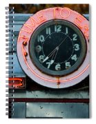 Time To Eat Spiral Notebook