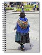 Time Walker Spiral Notebook