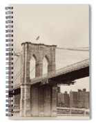 Timeless-brooklyn Bridge Spiral Notebook