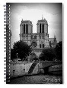 Timeless Notre Dame Spiral Notebook