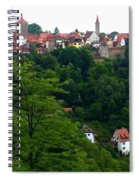 Timeless Rothenburg Spiral Notebook