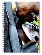 Timeless Violin Spiral Notebook