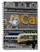 Times Square 1943 Spiral Notebook