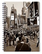 Times Square New York S Spiral Notebook