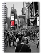 Times Square New York Toc Spiral Notebook