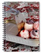 Tin Of Eyes Spiral Notebook