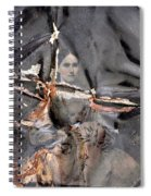 Tin Type Lifesaver Spiral Notebook