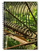 Tines Of A Hayrake Spiral Notebook