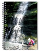 Tintagel Beach Spiral Notebook