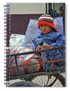 Tiny Biker 2 Spiral Notebook