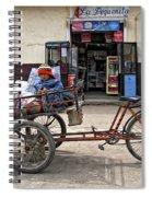 Tiny Biker Spiral Notebook