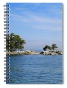 Tiny Island Off Vancouver Island Spiral Notebook