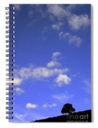 Tiny Tree Silhouette Spiral Notebook