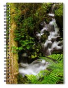 Tiny Water Spiral Notebook