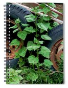 Tires And Ivy Spiral Notebook