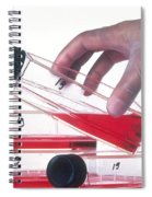 Tissue Culture Spiral Notebook