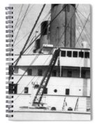 Titanic: The Bridge, 1912 Spiral Notebook