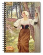 Tithe In Kind Spiral Notebook