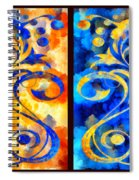 To Harness The Moon And The Sun Spiral Notebook