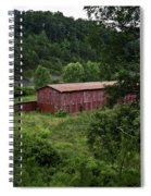 Tobacco Barn From Afar Spiral Notebook