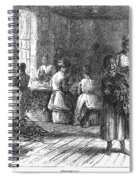 Tobacco Factory, 1873 Spiral Notebook