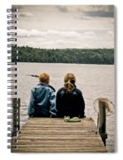Toes In The Water Spiral Notebook