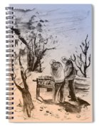 Together Old In Cyprus 05 Spiral Notebook