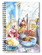 Together Old In Morocco 01 Spiral Notebook