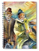 Together Old In Morocco 02 Spiral Notebook