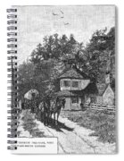 Toll Gate, 1879 Spiral Notebook