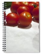 Tomato And Cucumber 1 Spiral Notebook
