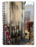 Tomb Of Famille Perrault Spiral Notebook