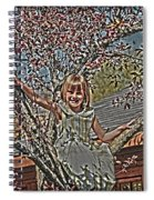 Tomboy In The Tree Spiral Notebook