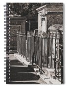 Tombs Of St. Louis Number One Cemetery New Orleans Spiral Notebook