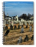 Tombstones Spiral Notebook