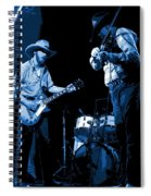 Tommy And Charlie Play Some Blues At Winterland In 1975 Spiral Notebook