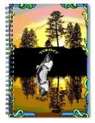 Amber Lake #2 Spiral Notebook