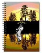 Amber Lake #3 Spiral Notebook
