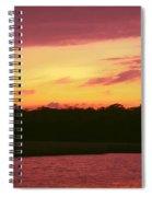 Tomoka River Sunset Spiral Notebook