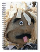Tongue  Tie Scarecrow Affair Spiral Notebook