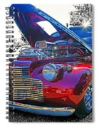 Too Shiny Spiral Notebook