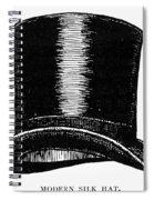Top Hat, 1900 Spiral Notebook