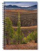 Top Of Cinder Cone Spiral Notebook