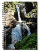 Top Of Kent Falls Spiral Notebook