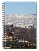 Topa Topa Snow Spiral Notebook